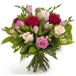 Mamá ramo rosas