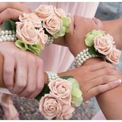 Pulsera boda romantica