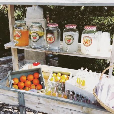 rental lemonade cart