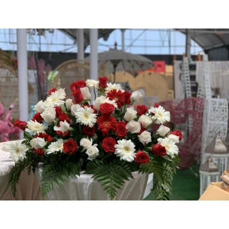 Sympathy Flowers Pink