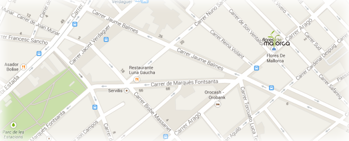 Mapa de la tienda