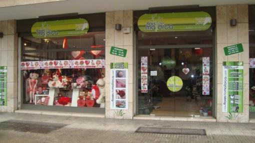 Nuestra tienda en Palma de Mallorca, calle Aragon 85