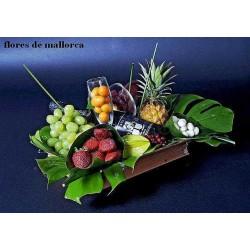 Cesta de frutas premium